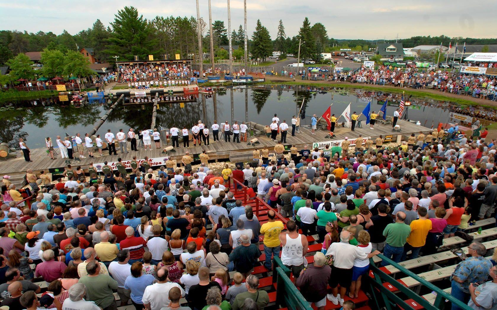 Lumberjack Shows & Lumberjack World Championships